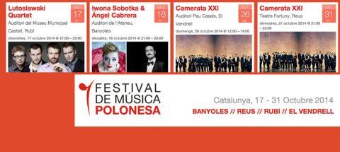 Festival de Música Polonesa a Catalunya.