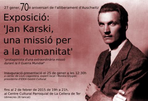 Exposición «Jan Karski, una misión para la humanidad»