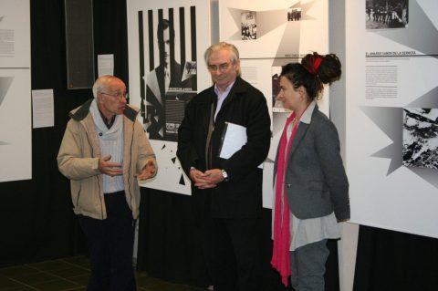 Inauguración Jan Karski en el Centre Cultural Parroquial