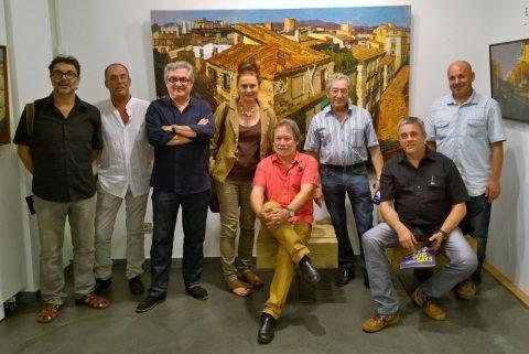 Inauguración exposición 9Art en Lloret de Mar