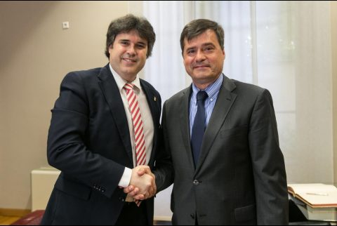 Visita del Cónsol General de Polònia a la Diputació de Girona