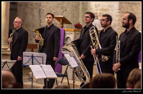 Concierto Stentor Brass, Església del Monestir de Amer.