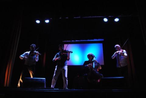 Aupa Quartet. Concert al Casal del Monestir d'Amer.