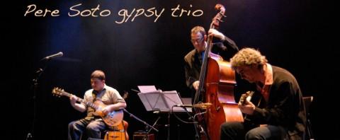 Pere Soto Gypsy Trio en Concierto en Can Clos