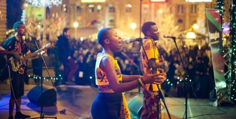 JESA (Zimbaue) en Concierto. Amer