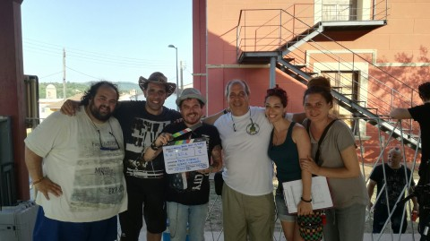 "Rodatge del Videoclip ""Back Way Home"" a Amer i a Can Clos."