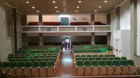 Renovació el Teatre El Casal d'Amer.